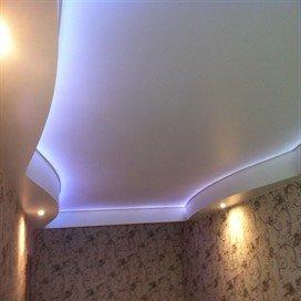 Потолок натяжной в Красногвардейском районе СПб