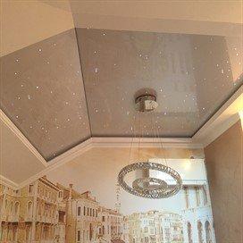 Потолок натяжной в Красногвардейском районе Петербург