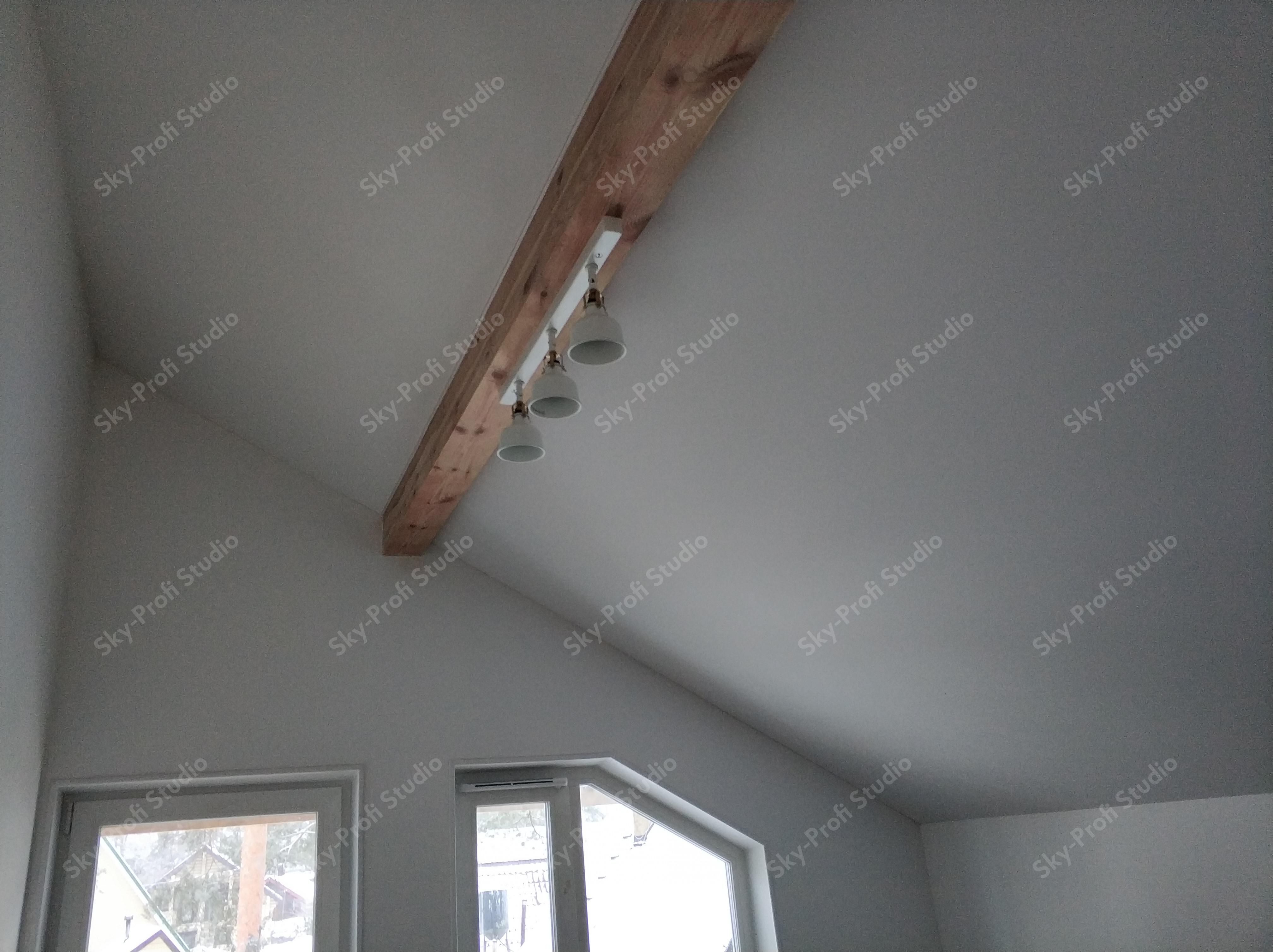 натяжные потолки в загородный дом