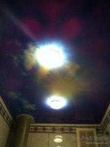 Заказать натяжной потолок в туалете в Петербурге