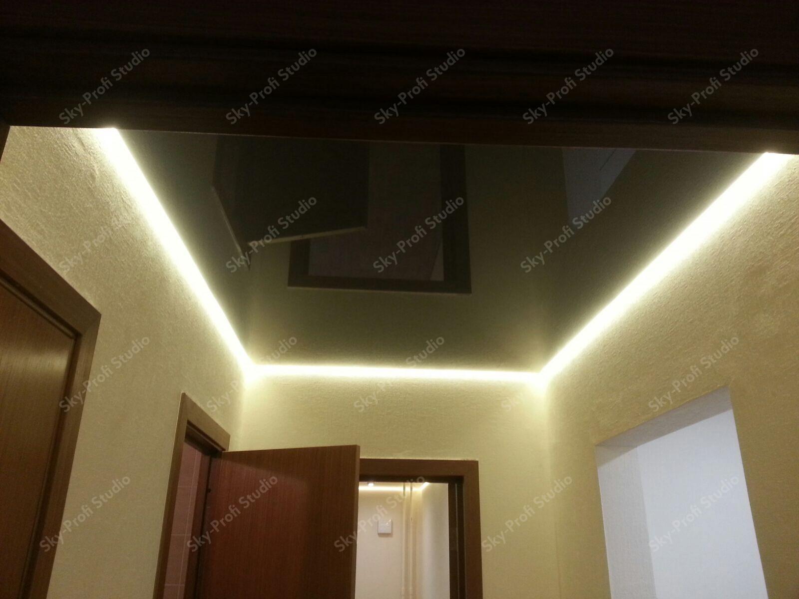 Парящий потолок на кухне
